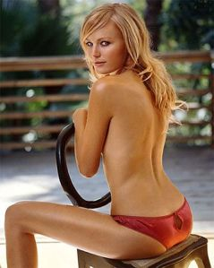 Malin Akerman slip